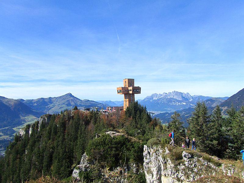 Buchensteinwand, Jakobskreuz