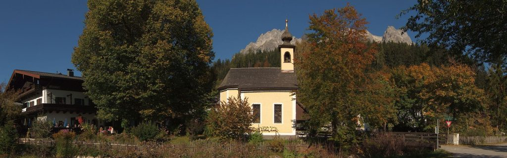 Leogang, Hütten
